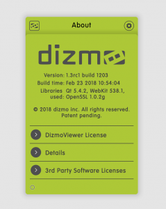 About dizmo
