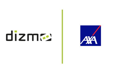 dizmo and Axa digital journey use case